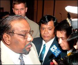 Thailand talks, 18 September 2002.