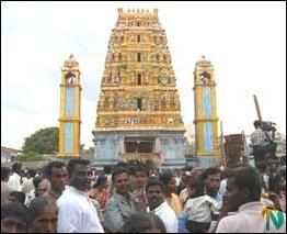 Thaanthondreesvarar temple.