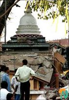 Vihara destroyed sm