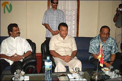 LTTE delegation