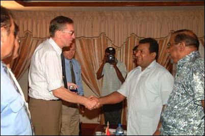 Norwegian delegation meets LTTE leader