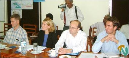 Norwegian delegation in Jaffna