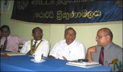 Trincomalee District Chamber of Commerce.