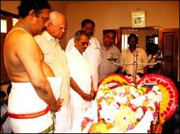 Mr.S.Gunanayagam's funeral.