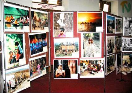 UNESCO photo-book exhibition