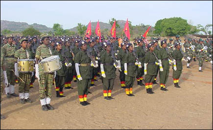 LTTE Training camp passout