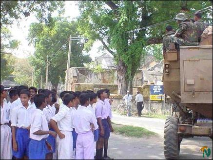 Jaffna students picket