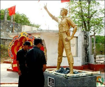 Captain Miller's statue