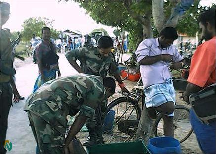 SLN harassment of Jaffna fishermen