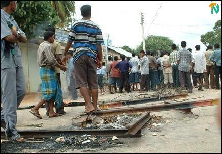 Clashes in Jaffna