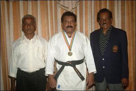 Karate Grand Master honoured