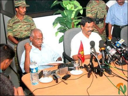 LTTE press meeting