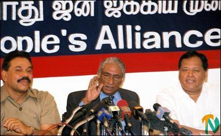 Mr.Kadirgamar press conference