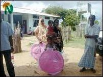 Mosquito nets distribution