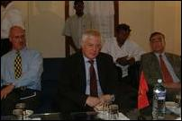 Pirapaharan meets EU commissioner
