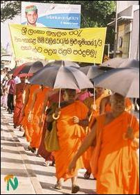 Buddhist Monks Protest on Dec 4th