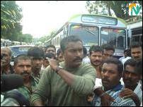 Vavuniya_bus strike