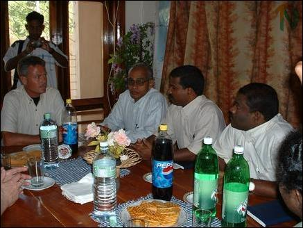 SLMM - LTTE meeting in Jaffna
