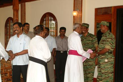 Delegation from Batticaloa
