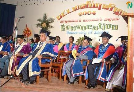 Jaffna University Convocation