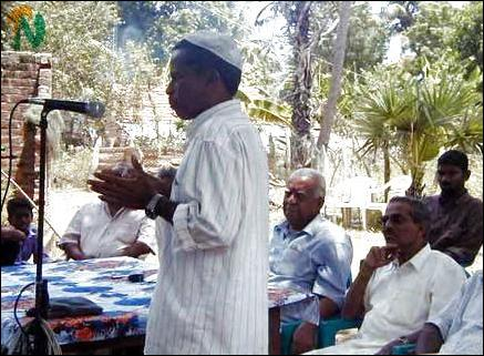 TNA canvasses in Muslim village