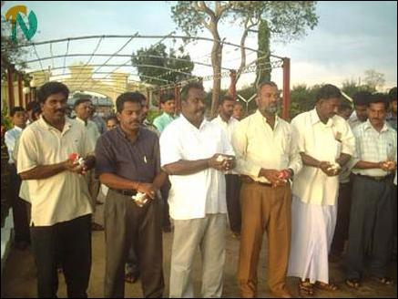 Vanni MPs pay homage to Martyrs