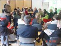 The roundtable in Berlin organised by Berghof Foundation for Conflict Studies