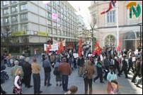 May Day 2004 in Bergen, Norway
