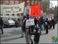 May Day 2004 in Trondheim, Norway
