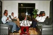 Norwegian peace facilitators meet the LTTE