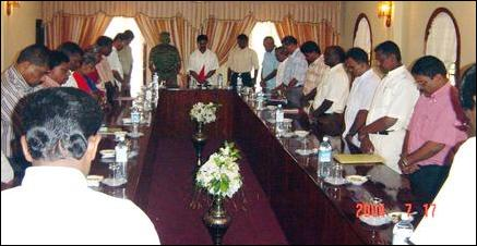 LTTE, TNA meeting