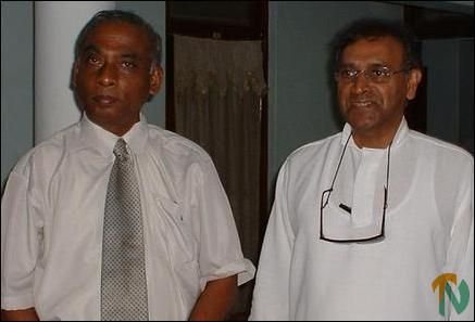 Dr. Jayantha Dhanapala, Chairman of the Sri Lankan Government Peace Secretariat with GA Mr.S