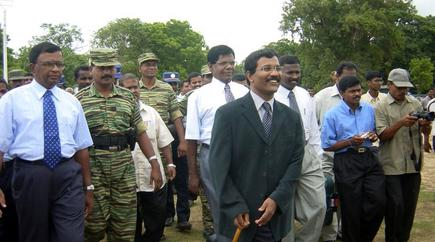 LTTE Team leaves to Europe