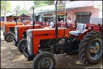 TRO supplies tractors under KSEDB loan scheme