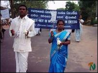 Vavuniya Peace March