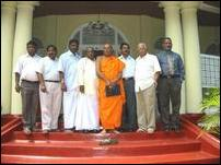 TNA meets Mahanayake Thero of Malwatte Chapter in Kandy