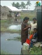 Jaffna flood victims