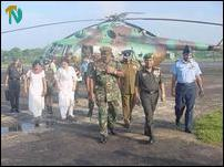 Indian Commander visits Vavuniya