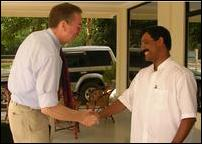 Meeting with Thamilchelvan