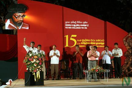 15th year commomeration of JVP insurgency