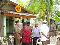 Batticaloa grenade incident