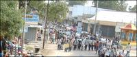 Human chain protest in Chavakachcheri