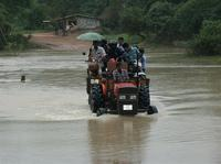 TRO retrieves stranded flood victims in Kilinochchi-district