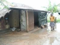 Thousands of homes affected by flood waters in Kilinochchi-district.