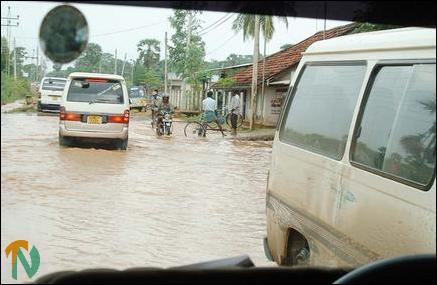 Flood in Trinco