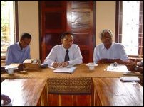 Colombo-DFAR officials