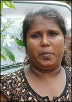 A Tamil house wife thanks the TRO