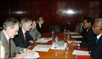 LTTE delegation meets with Finnish Foreign Minister