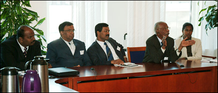 LTTE team meets SIDA officials in Sweden