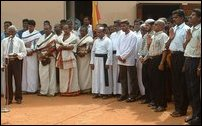Voice of Tamil Nation event in Jaffna-Univeristy